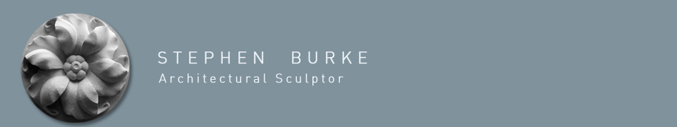 Stephen Burke - Sculptor and architectural stone carver