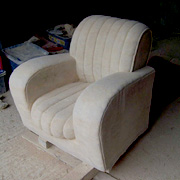 Armchair in progress